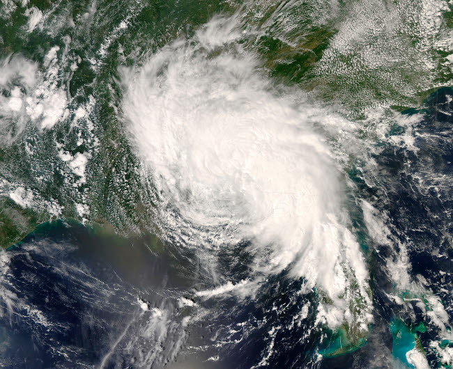 STK202322S © Stocktrek Images, Inc. Tropical Storm Fay ver the southeastern United States.