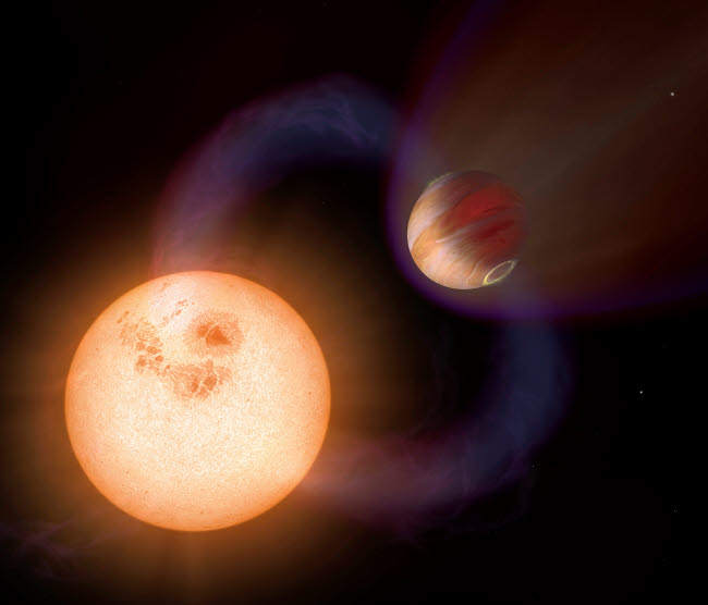 STK202364S © Stocktrek Images, Inc. An artist's impression of a unique type of exoplanet.