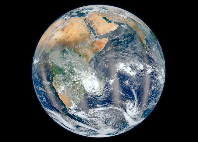 STK203722S © Stocktrek Images, Inc. Full Earth showing the eastern hemisphere.
