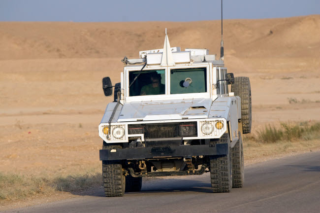TMO100133M © Stocktrek Images, Inc. Mamba armored personnel carrier.