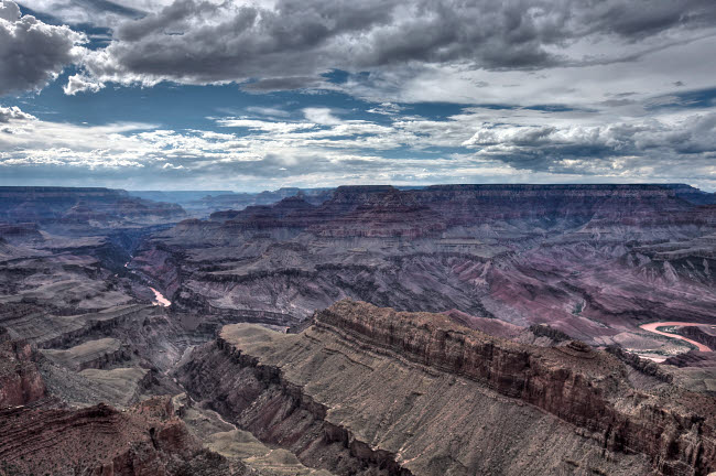 TMO200001S © Stocktrek Images, Inc. High dynamic range image of Grand Canyon from Lipan Point, South Rim, Arizona.