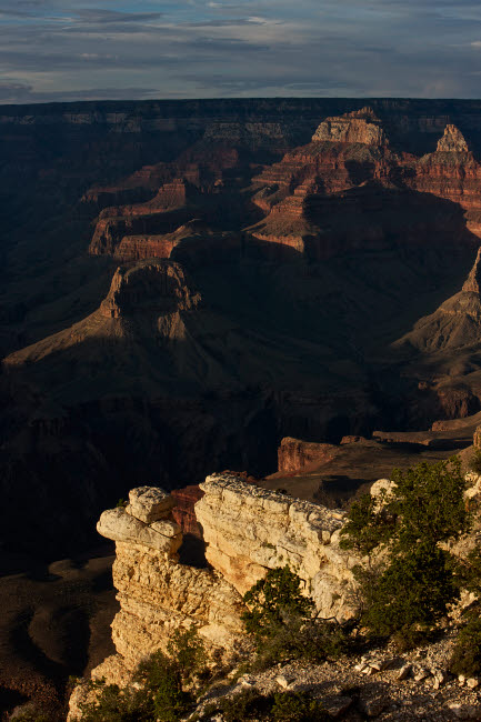 TMO200007S © Stocktrek Images, Inc. Grand Canyon as seen from Yavapai Point on the South Rim, Arizona.
