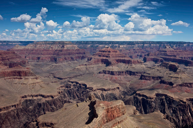 TMO200011S © Stocktrek Images, Inc. Beautiful vista of Grand Canyon from Hopi Point, Arizona.