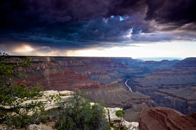 TMO200016S © Stocktrek Images, Inc. Grand Canyon as seen from Mohave Point South Rim, Arizona.