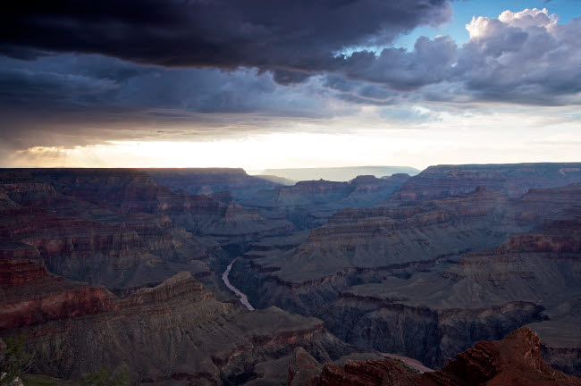 TMO200017S © Stocktrek Images, Inc. Grand Canyon as seen from Mohave Point South Rim, Arizona.