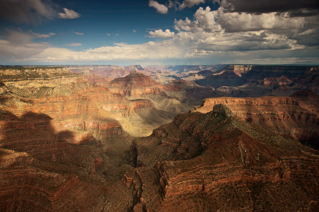 TMO200019S © Stocktrek Images, Inc. Aerial view of Grand Canyon, Arizona.