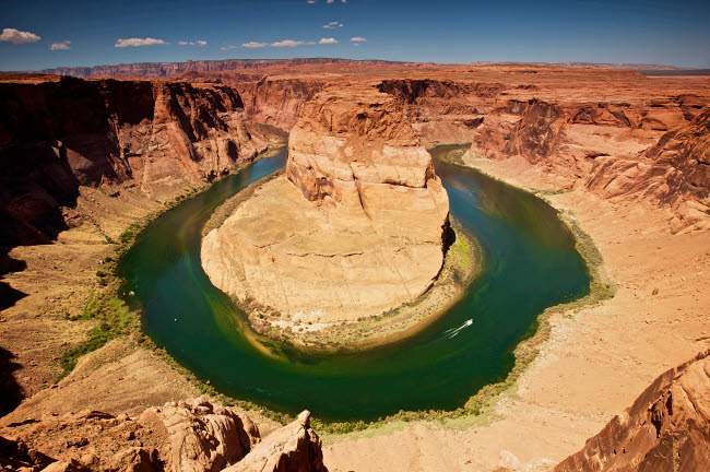 TMO200023S © Stocktrek Images, Inc. Horseshoe Bend on Colorado River, Arizona, USA.