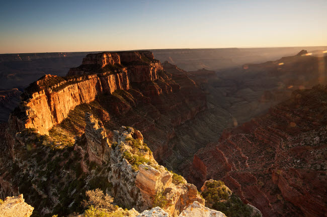 TMO200028S © Stocktrek Images, Inc. Wotan's Throne, Grand Canyon National Park, Arizona.