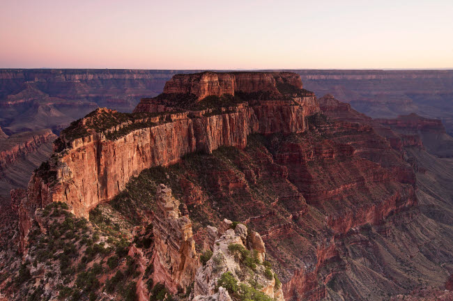 TMO200029S © Stocktrek Images, Inc. Wotan's Throne, Grand Canyon National Park, Arizona.
