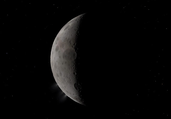 WMY100296S © Stocktrek Images, Inc. Artist's concept of the dwarf planet Ceres in the main asteroid belt.