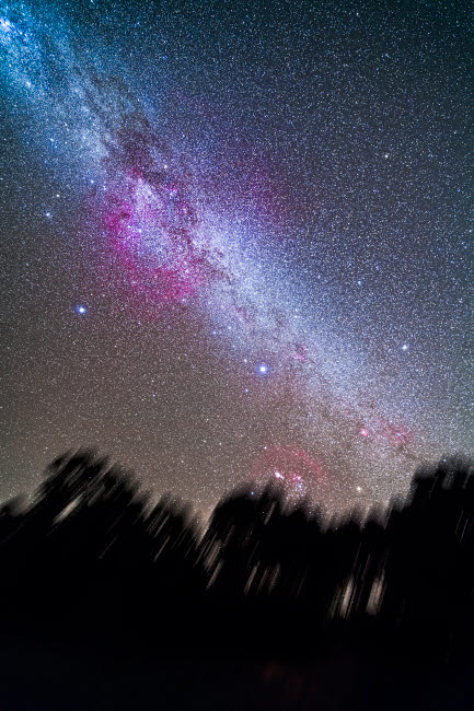 ADY200425S © Stocktrek Images, Inc. The Milky Way in the southern hemisphere sky.