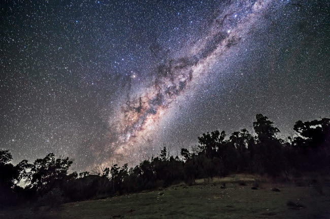 ADY200435S © Stocktrek Images, Inc. The southern Milky Way and galactic centre rising in Australia.