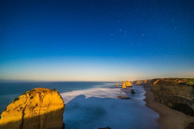 ADY200517S © Stocktrek Images, Inc. The Twelve Apostles sea stack formations on the Great Ocean Road, Australia.