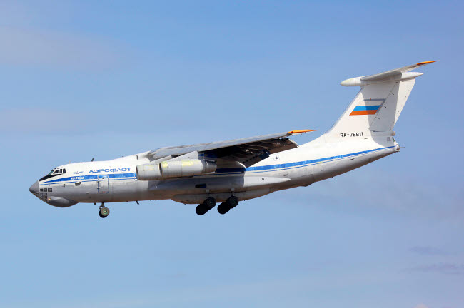 ANK100005M © Stocktrek Images, Inc. IL-76MD transport aircraft of the Russian Air Force.