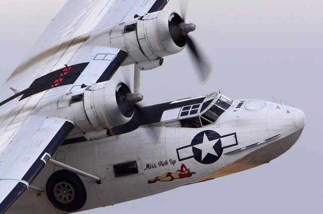 ANK100041M © Stocktrek Images, Inc. PBY 5A Catalina anti-submarine aircraft of the Russian Air Force.