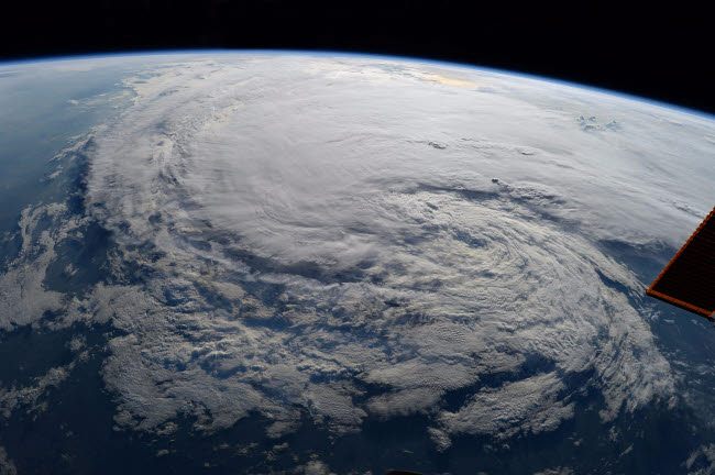 STK204722S © Stocktrek Images, Inc. Tropical Storm Harvey as seen from the International Space Station.