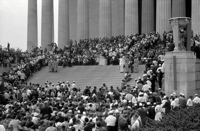 STK501160A © Stocktrek Images, Inc. August 28, 1963 - Civil rights march on Washington D.C.