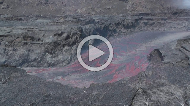 RRS800044F © Stocktrek Images, Inc. Time lapse of lava flows coming from Pico do Fogo volcano, Fogo, Cape Verde.
